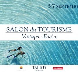 Affiche salon du Tourisme sept 14